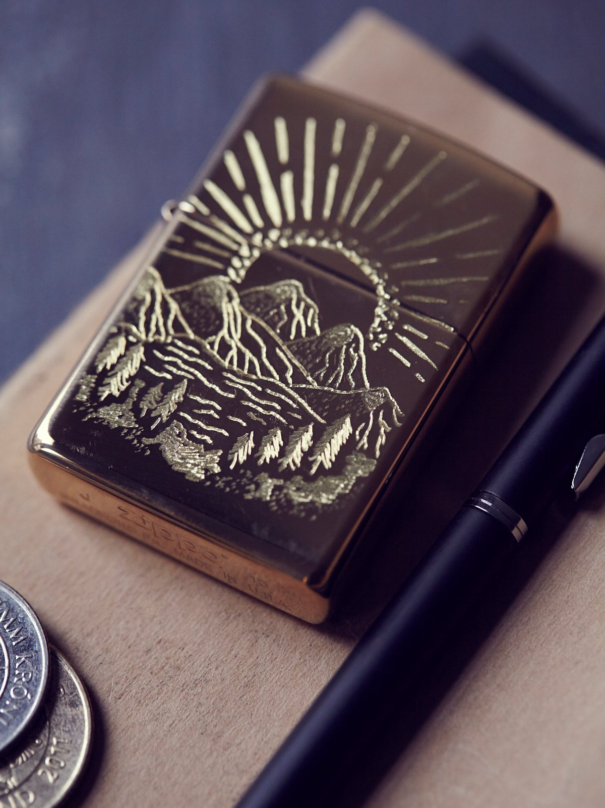 Engraved Lighter Case