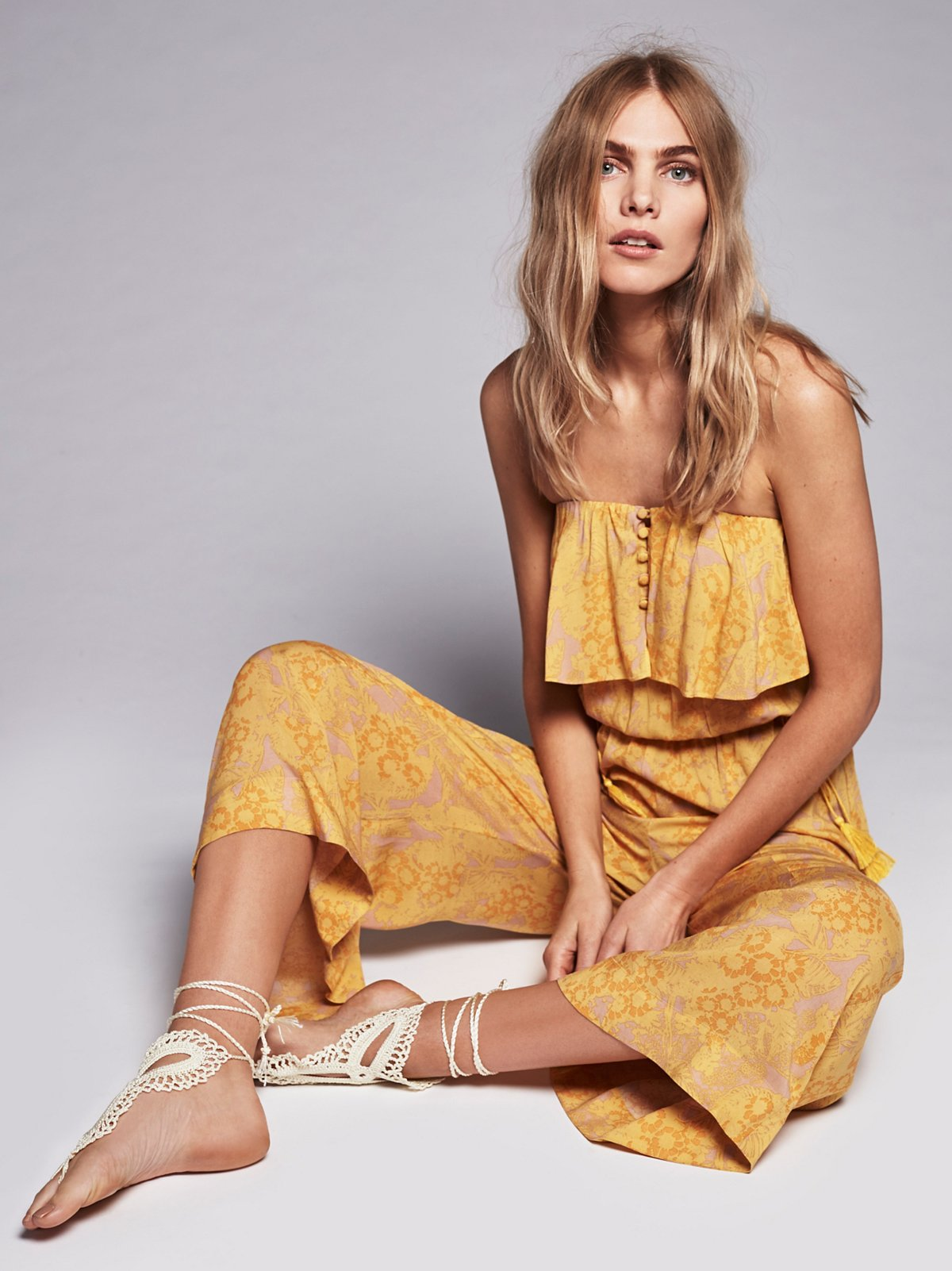 Rays of Gold Jumpsuit