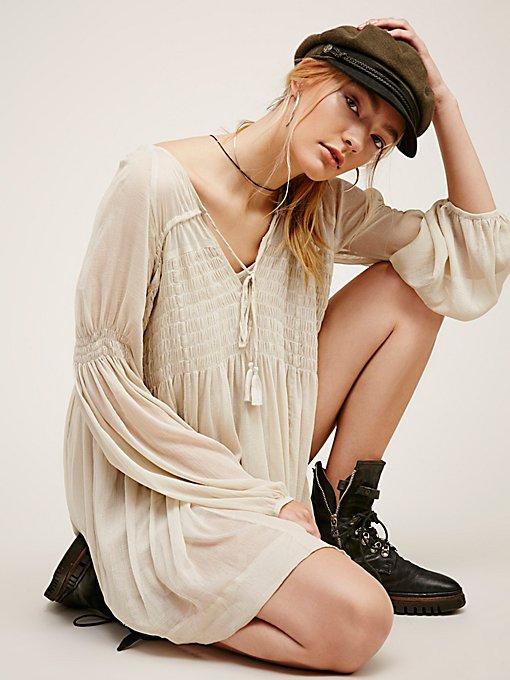 Product Image: Lini Smocked Mini Dress