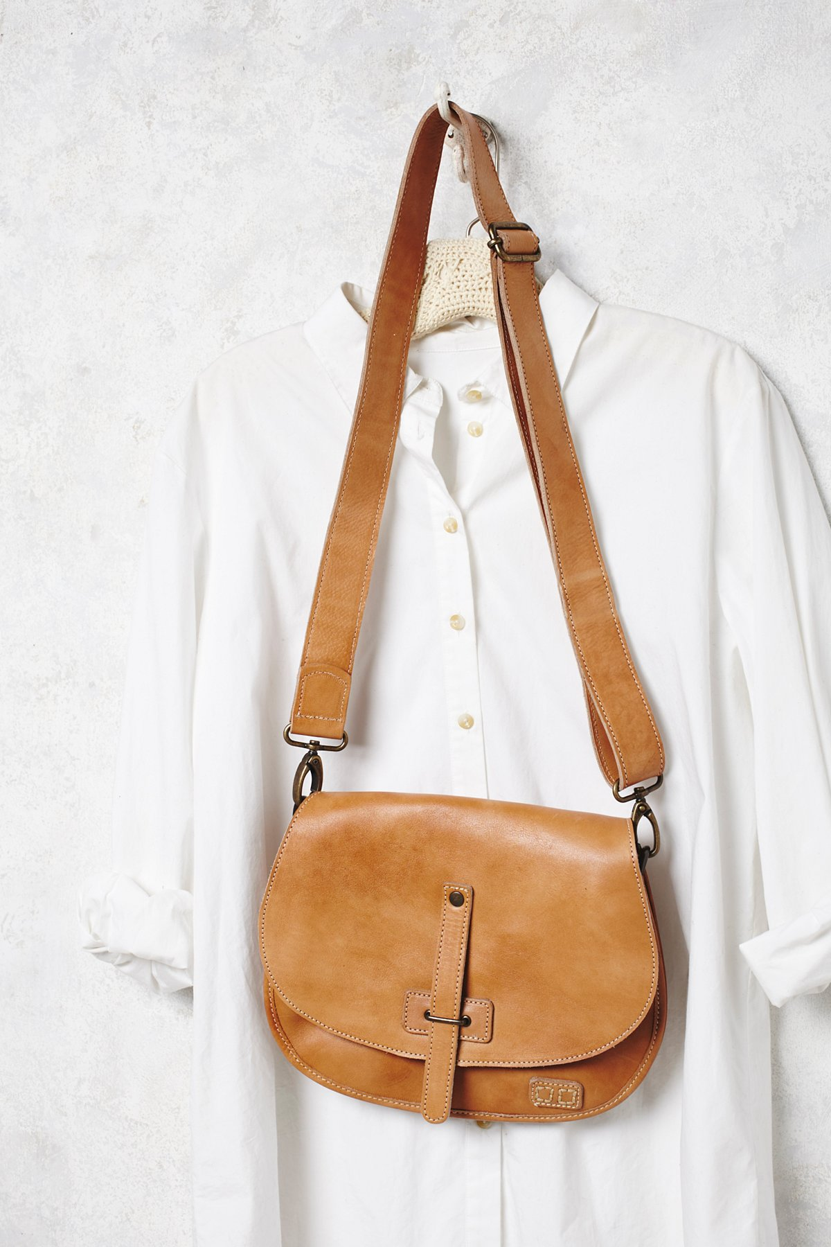 Going West Leather Saddle Bag