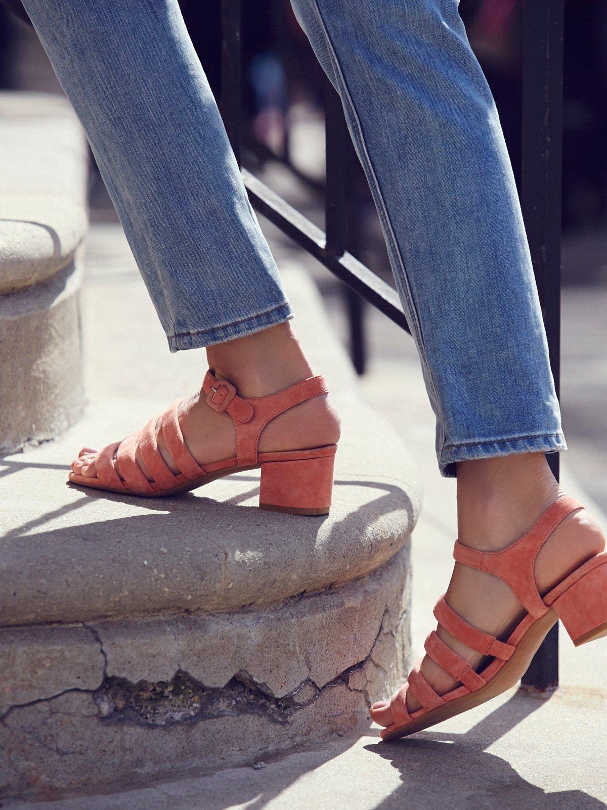 Clementine Block Heel