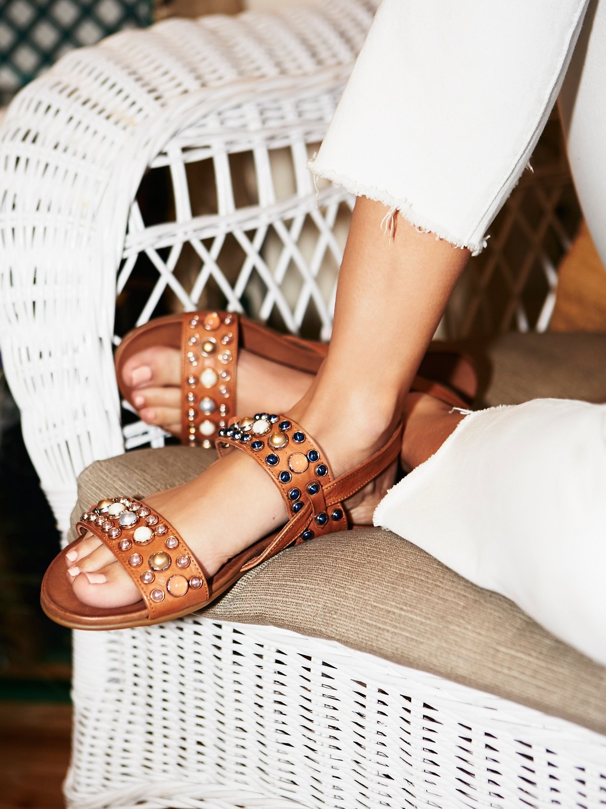 Del Ray Embellished Sandal