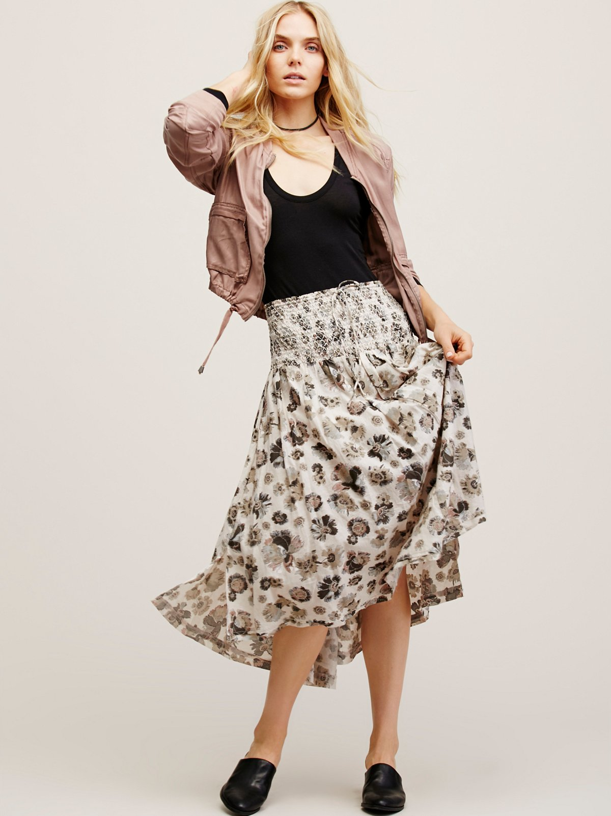 Take Me There Midi Skirt