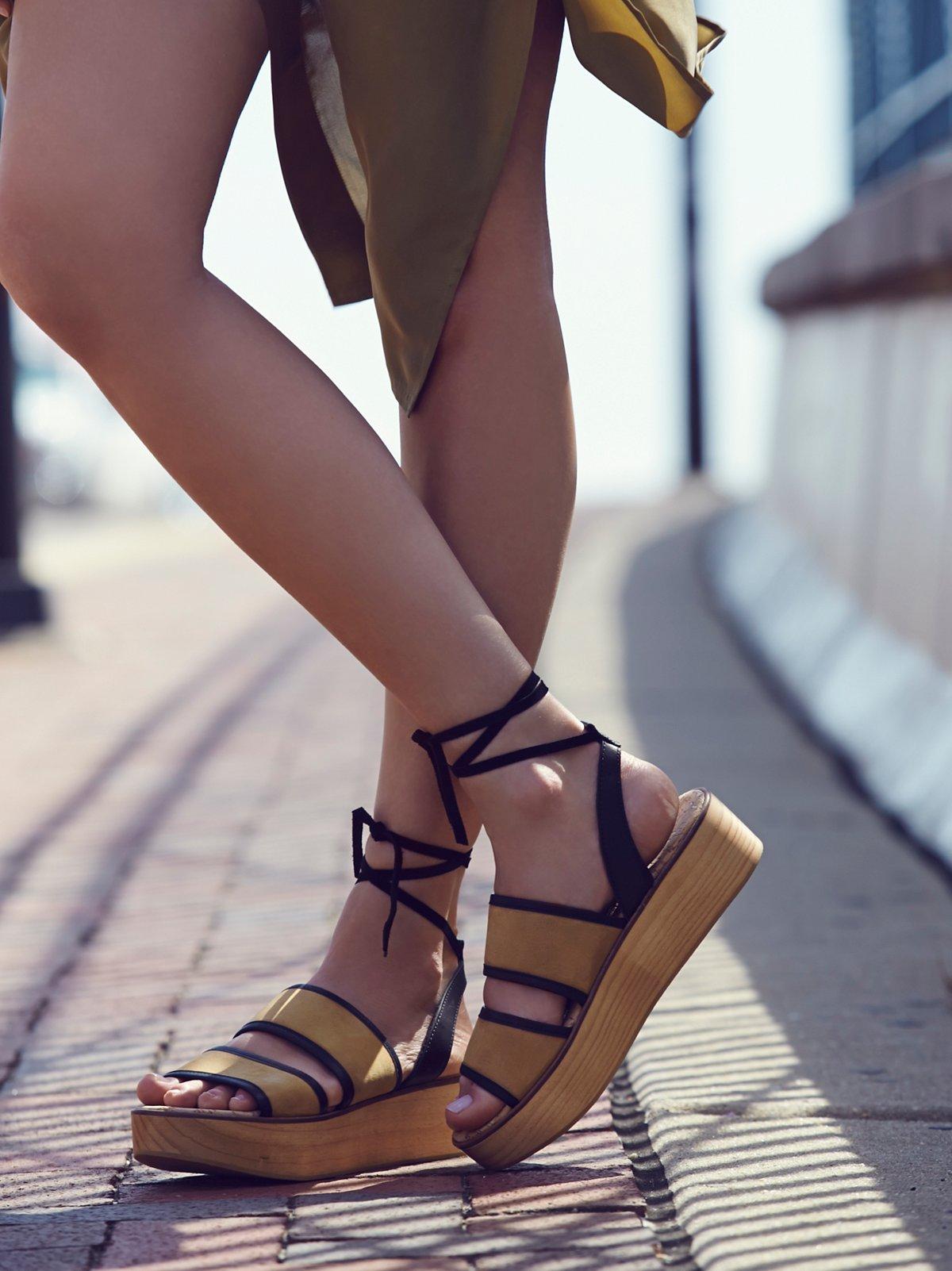 Cable Beach Platform Sandal