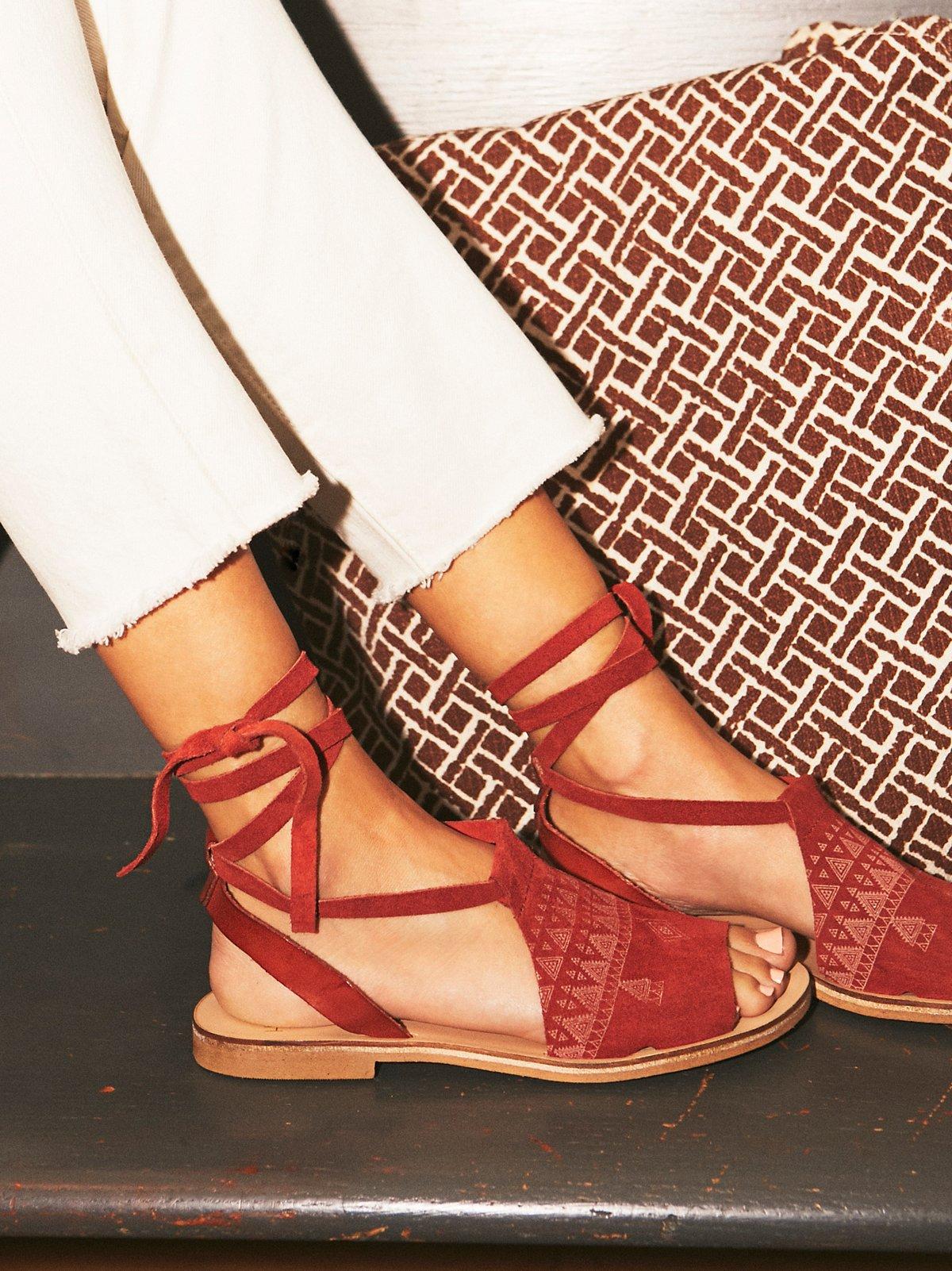 Folk Song凉鞋