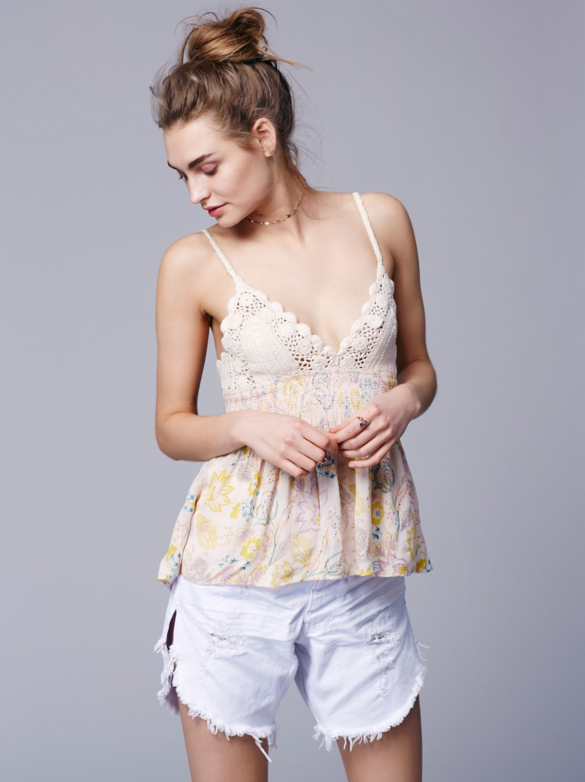 Wild Honey Printed Tank