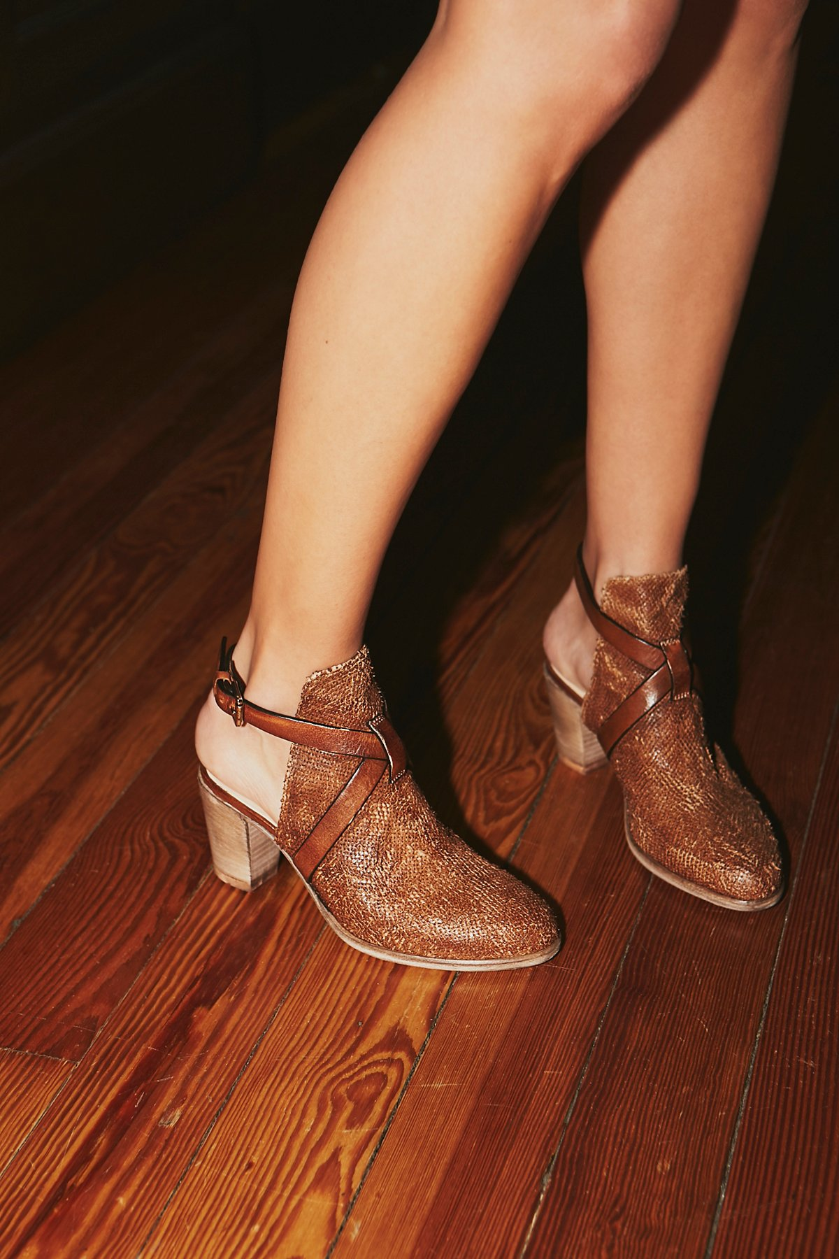 In the Clear Ankle Boot