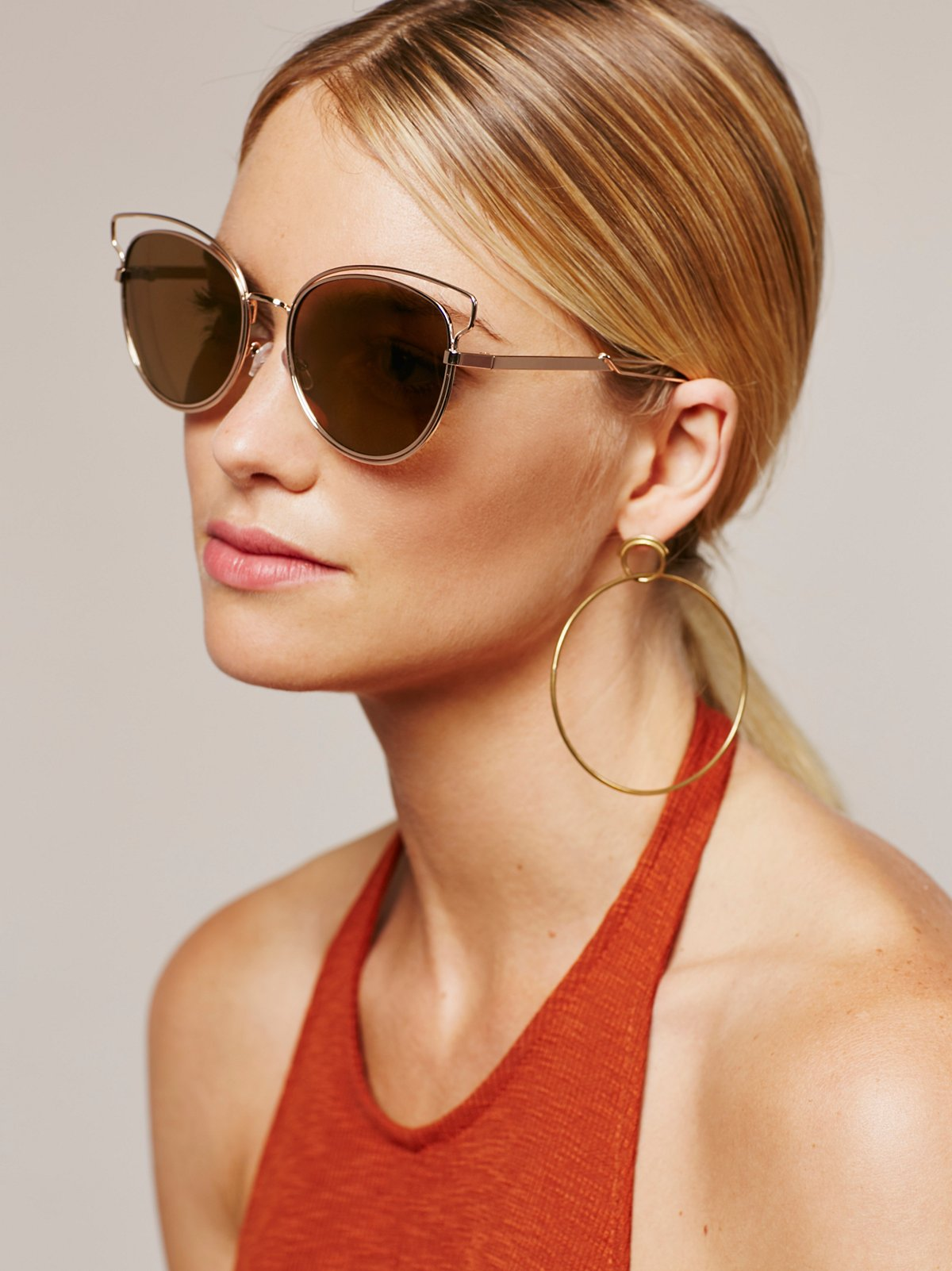 Florence Wire Frame Sunnies