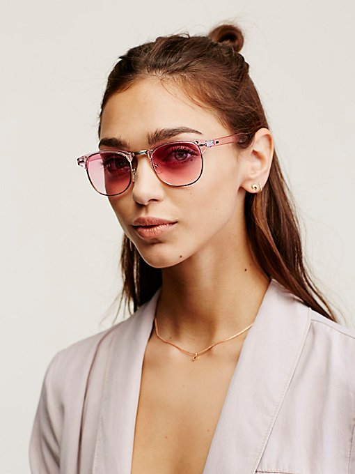 Product Image: Crystal Clear Clubmaser Sunnies