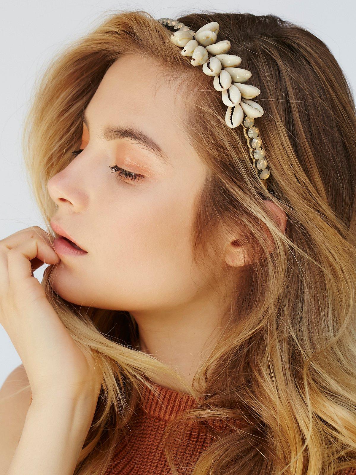 Norma Shell Headband