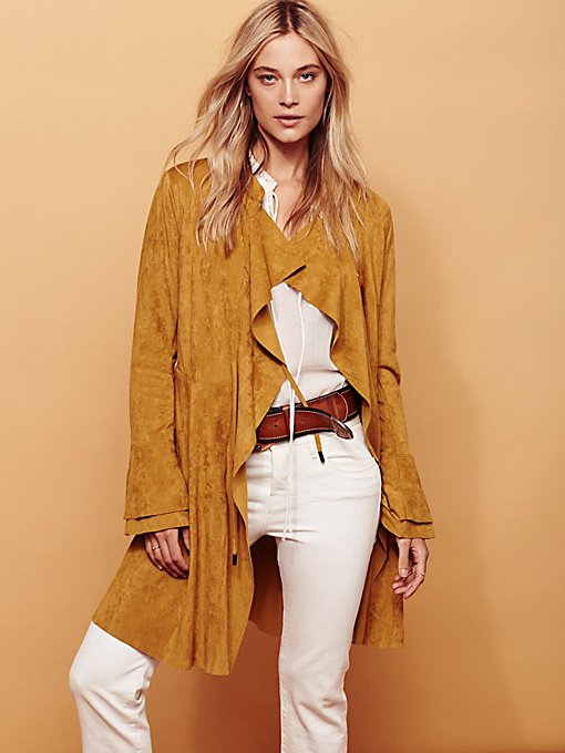 Product Image: Faux Suede Meadow Jacket