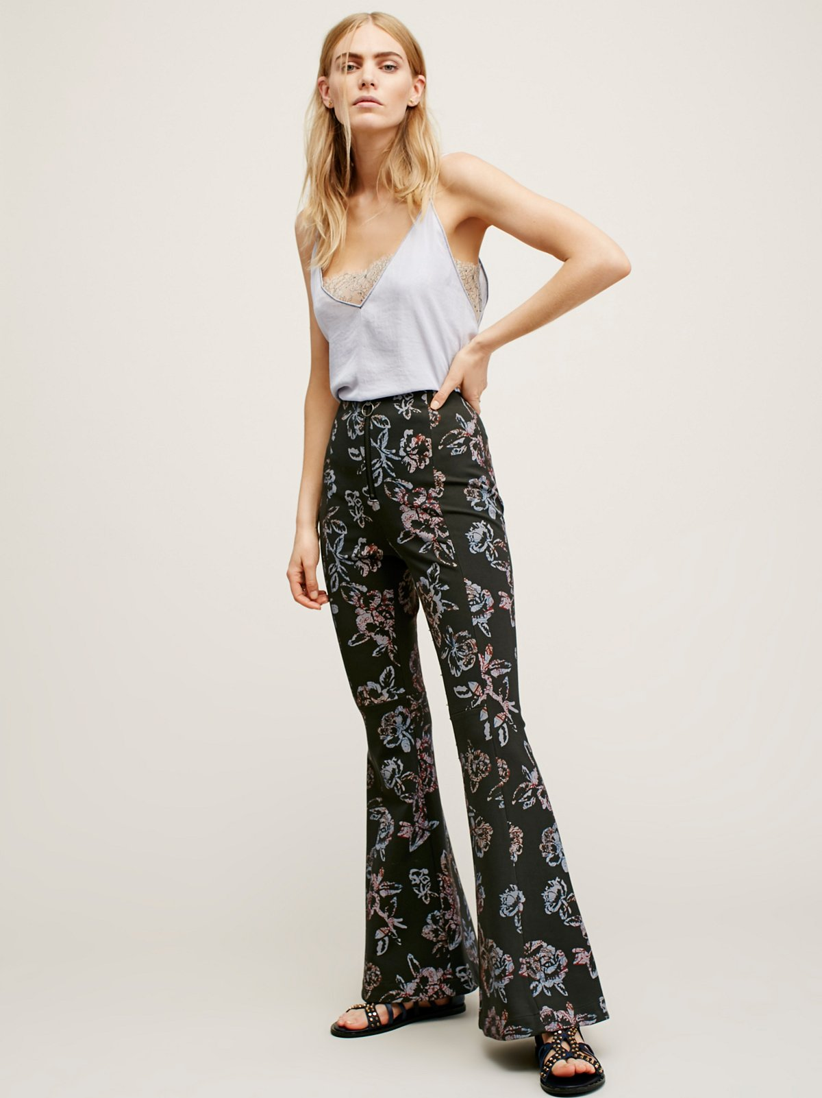 Born to be Wild Printed Pant