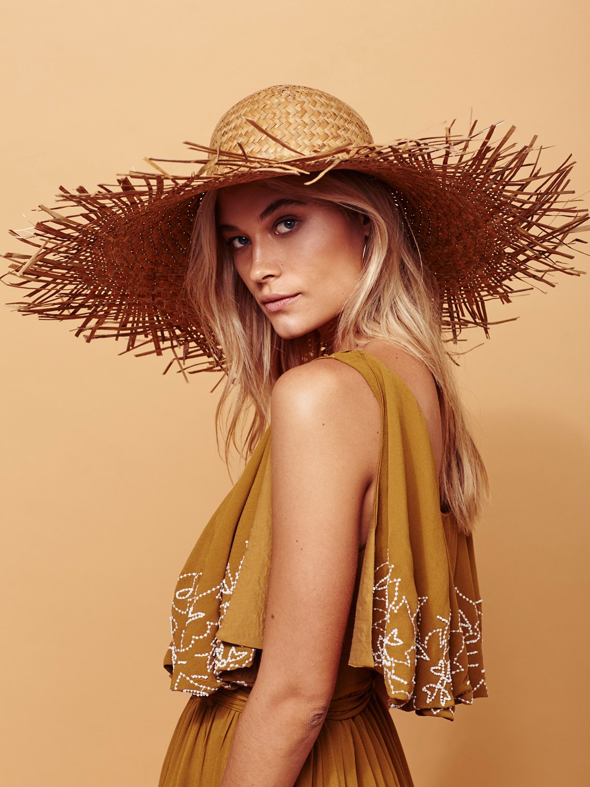 Russo Oversized Straw Hat