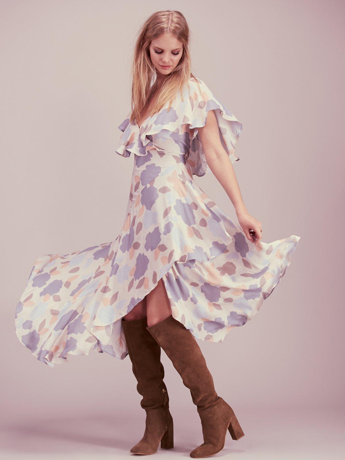 Faye围裹式连衣裙