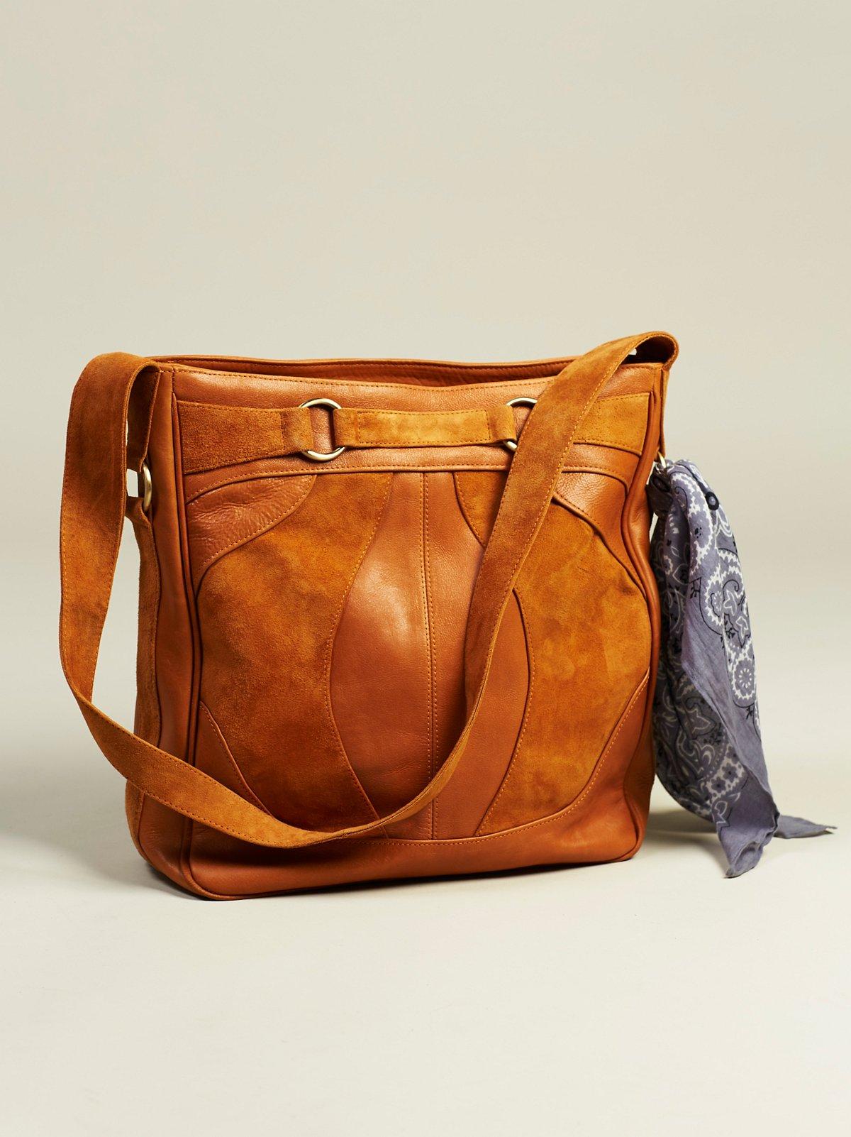 哥本哈根皮革手提包