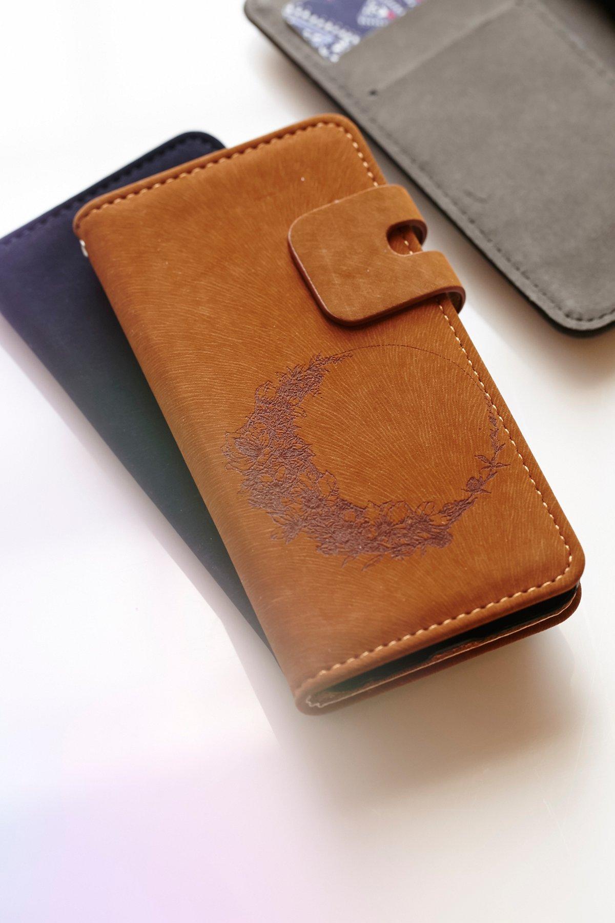 麂皮钱包iPhone手机套
