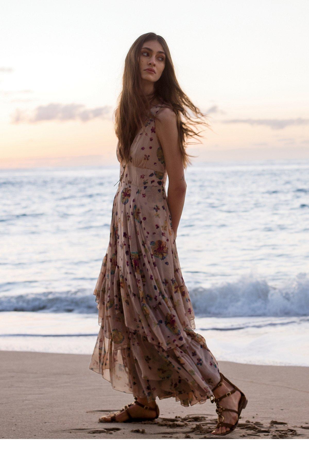 Catching Glances Midi Dress