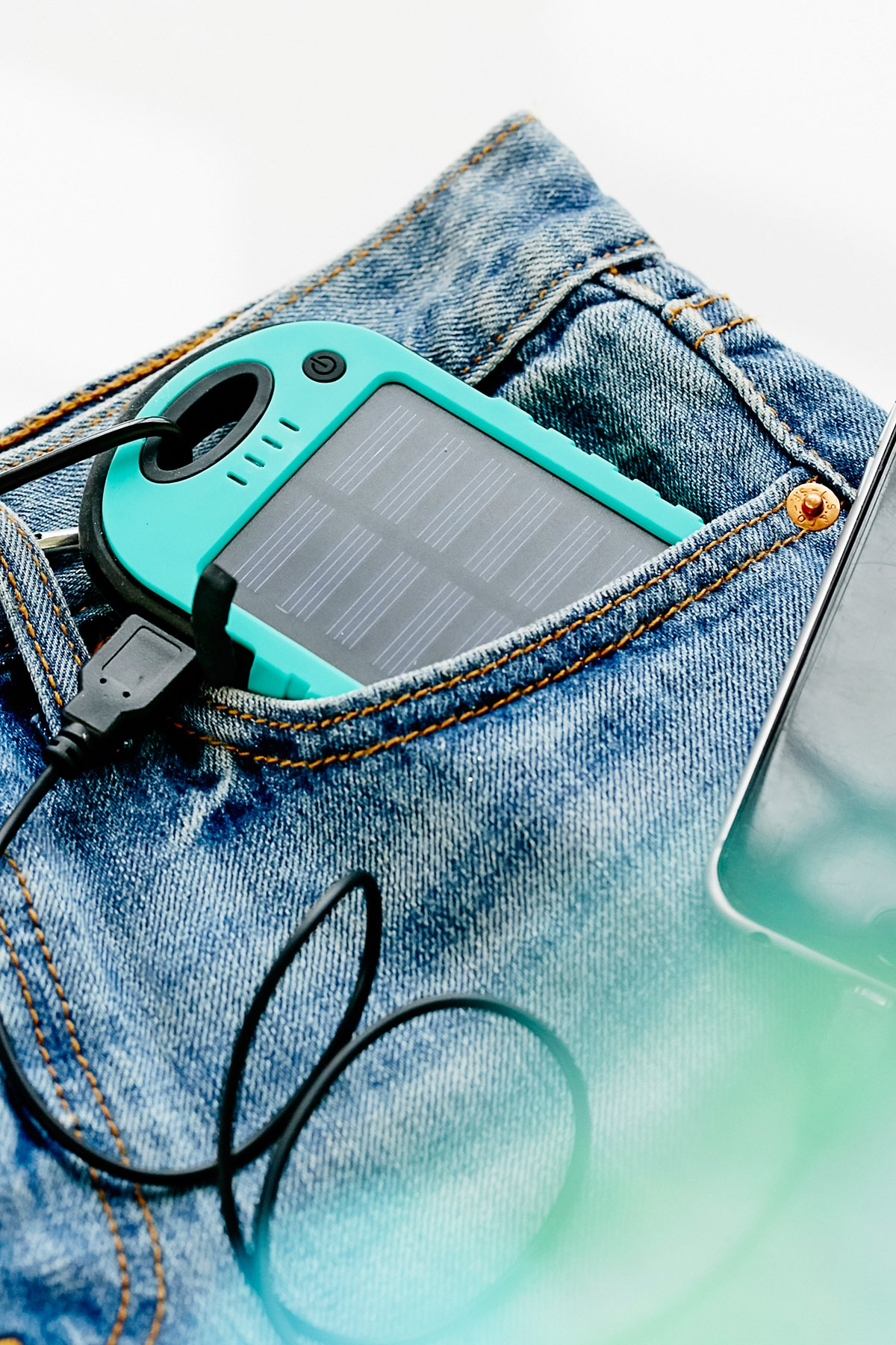Solar Charger Keychain