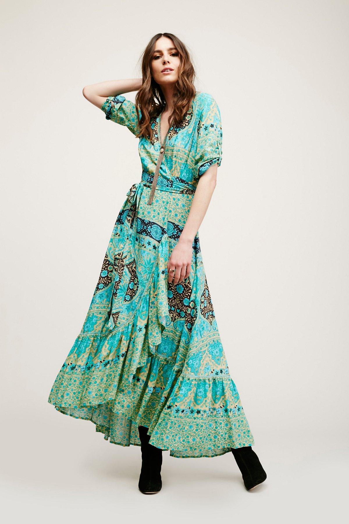 Aloha Wrap Dress