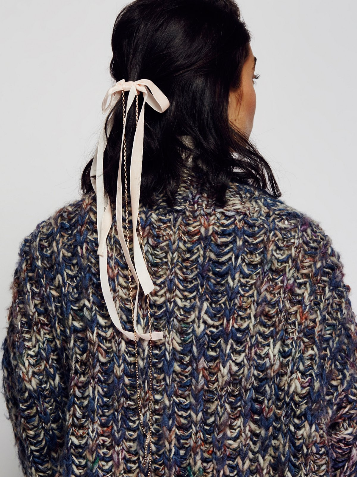 Charlotte天鹅绒束发带