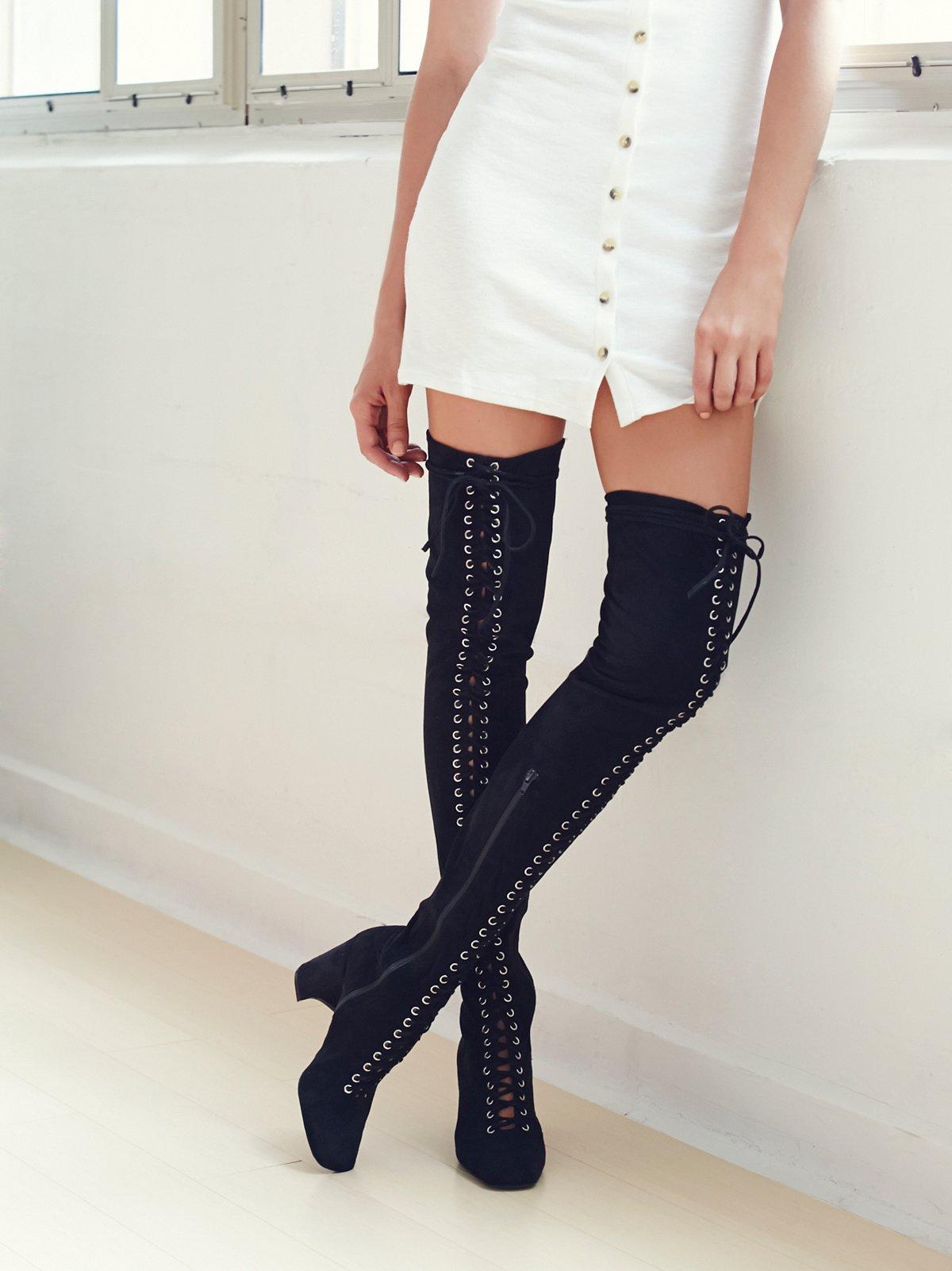 Laila Thigh High Boot