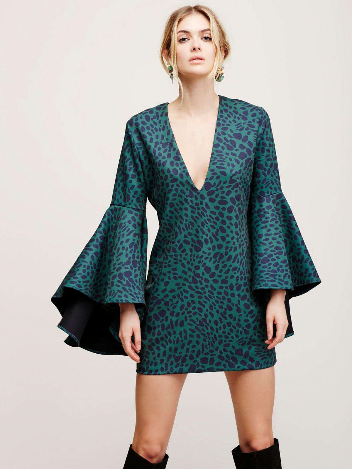 Printed Farrah Dress