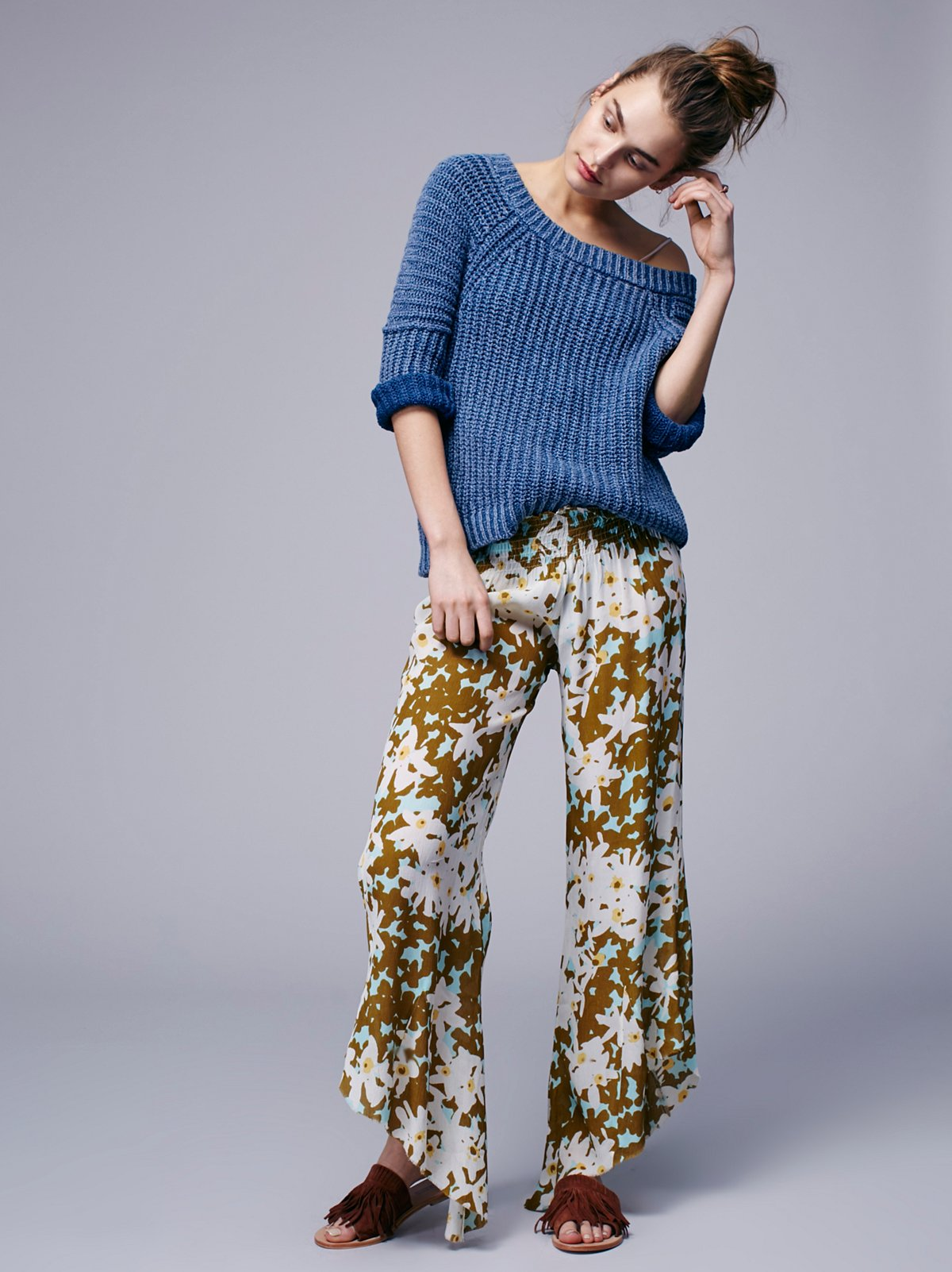 Lucina Floral  Hippie Pant
