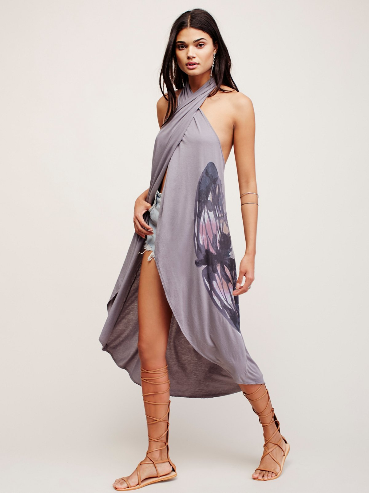 We the Free Snake Eyes Maxi Top