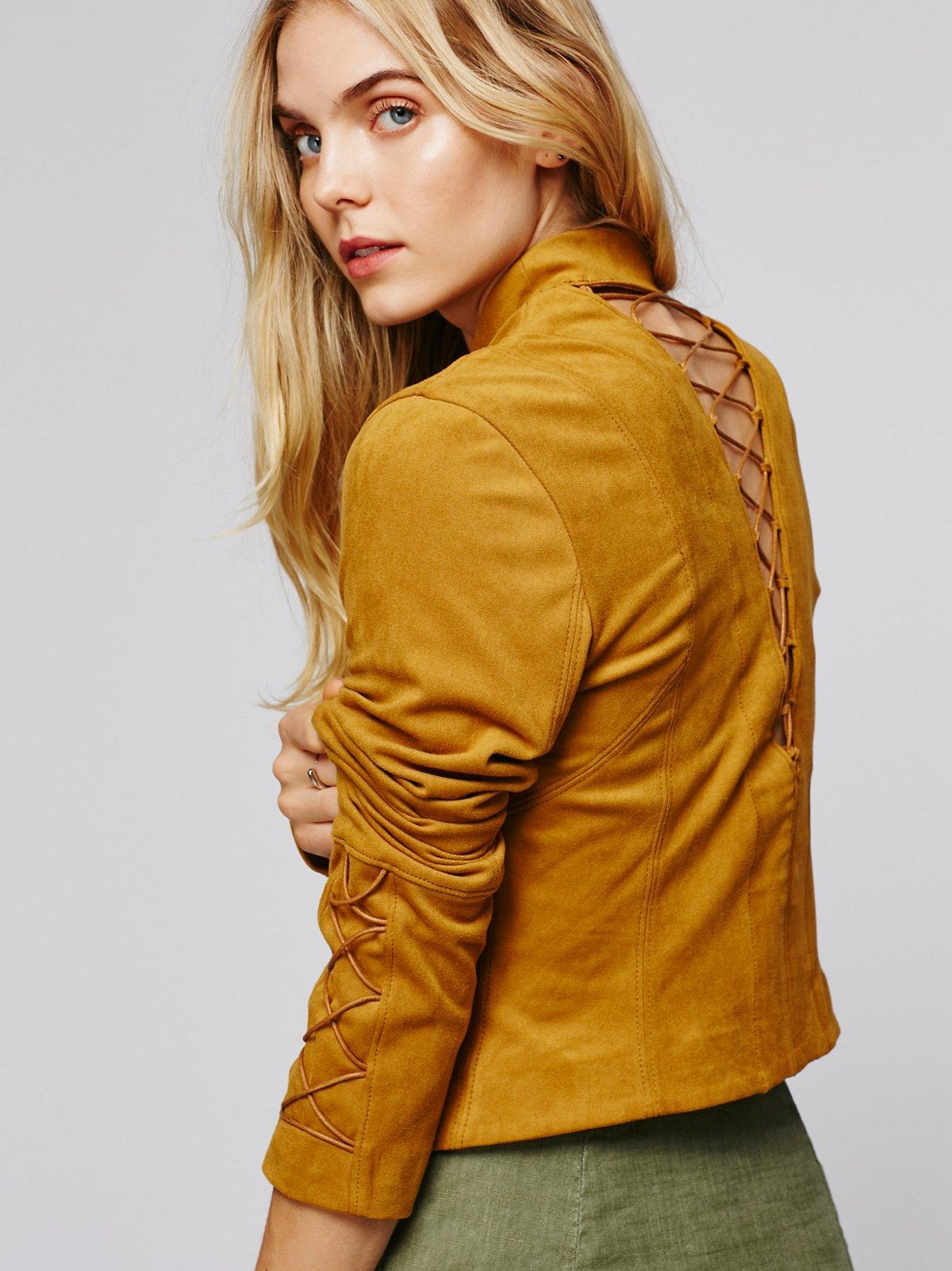 Bare Back Laced Jacket