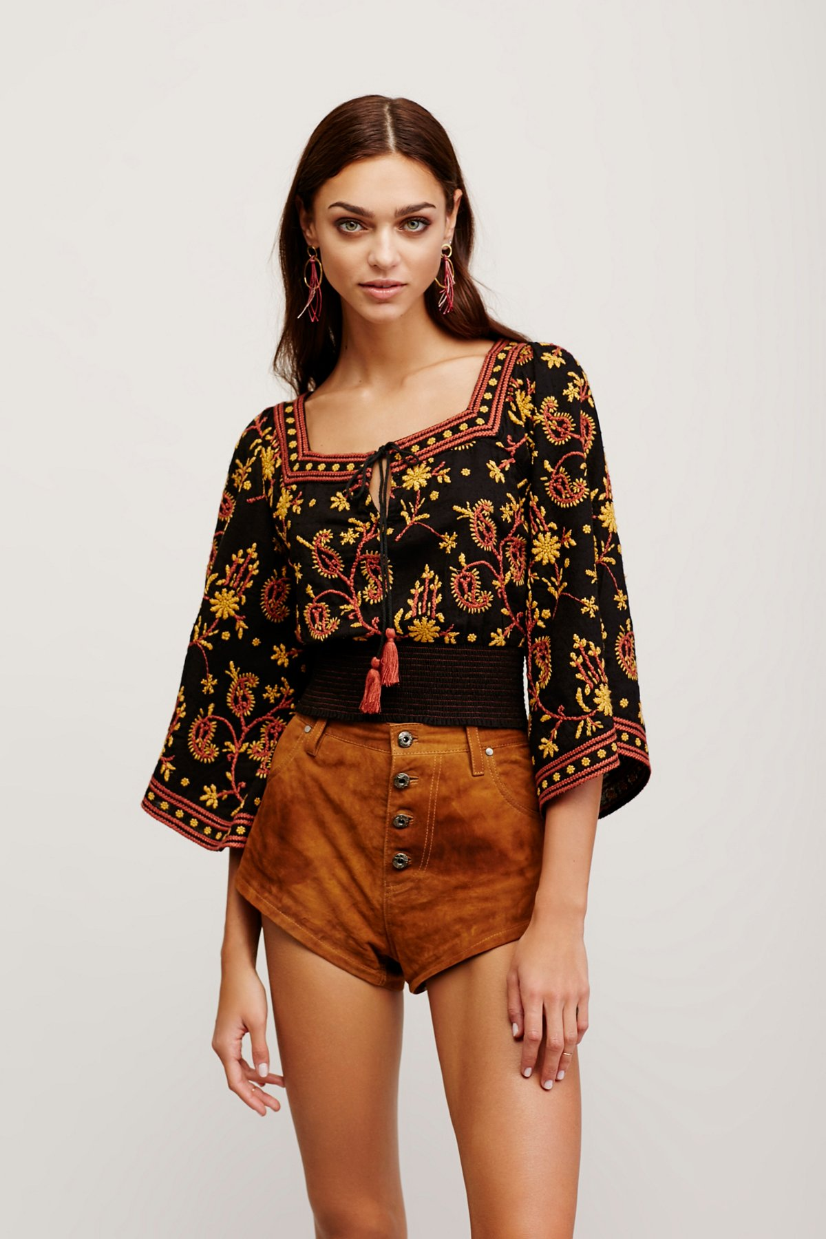 Louisa Embroidered Top