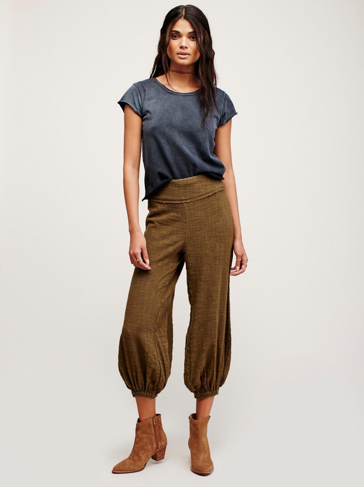 The Serita长裤