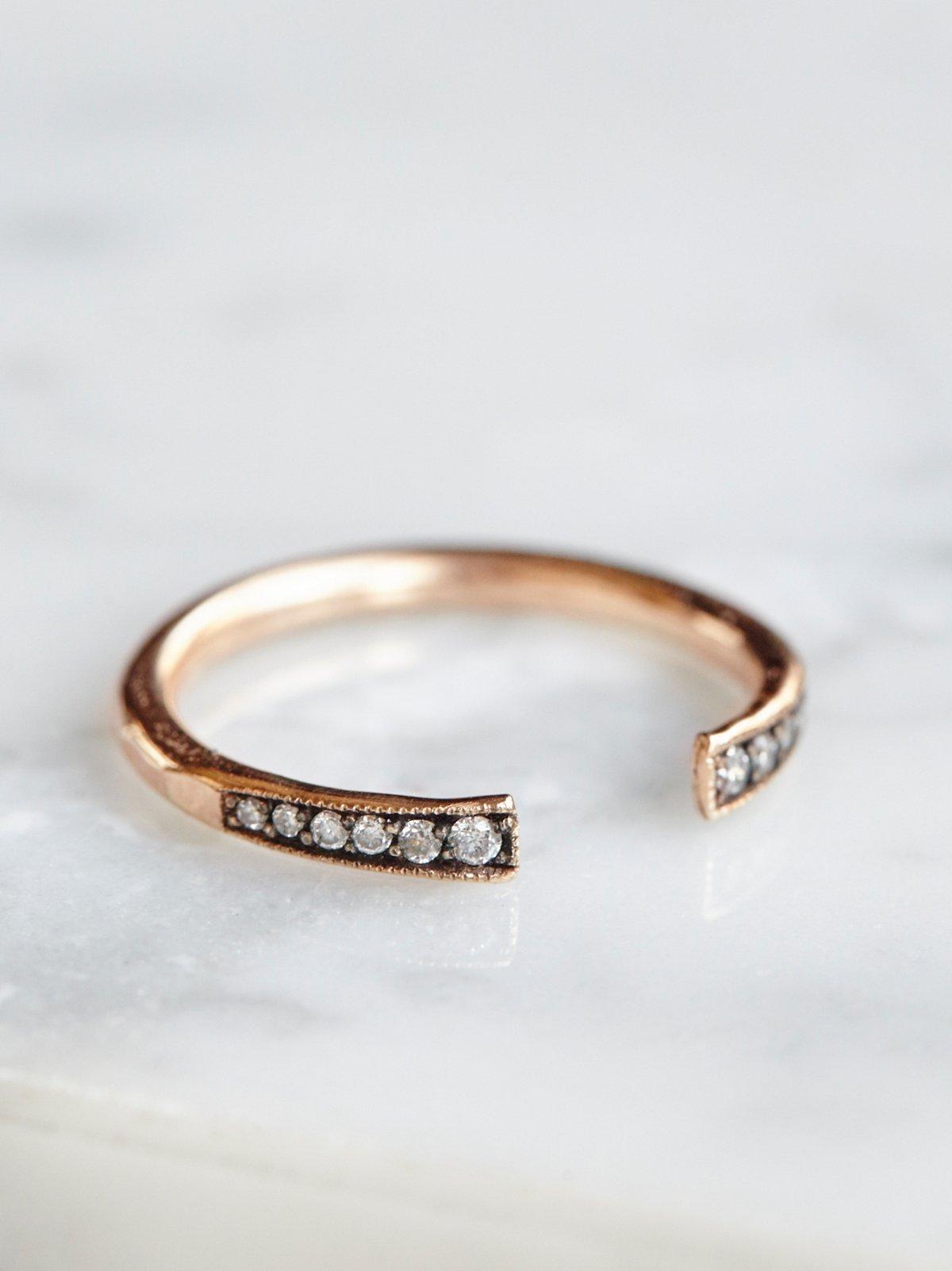 Diamond Cuff Ring