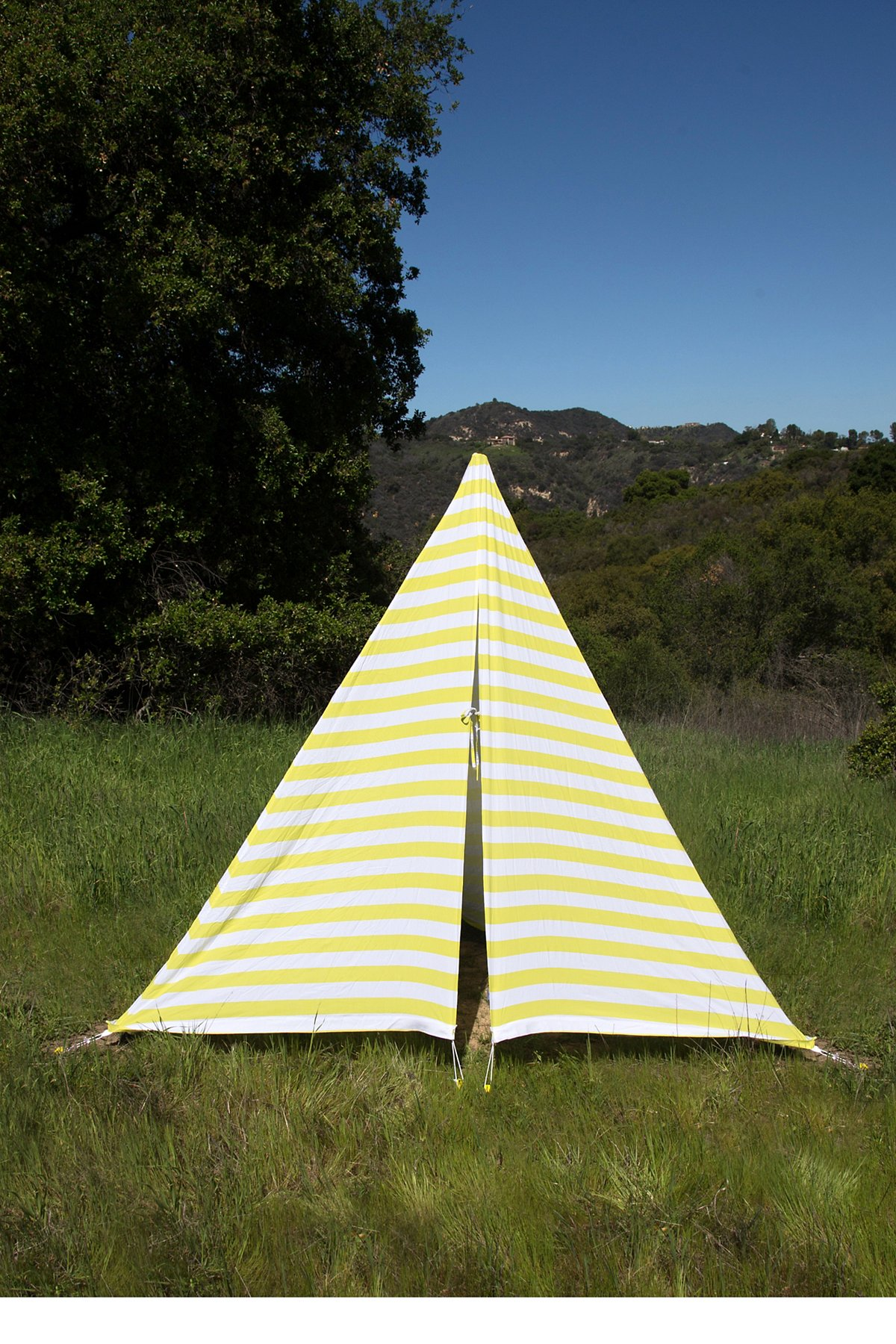 Yellow Antigua Tent