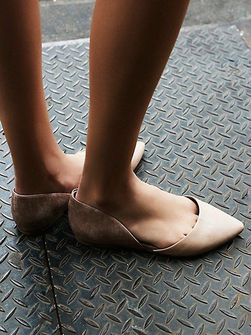 Product Image: Society仿皮平底鞋