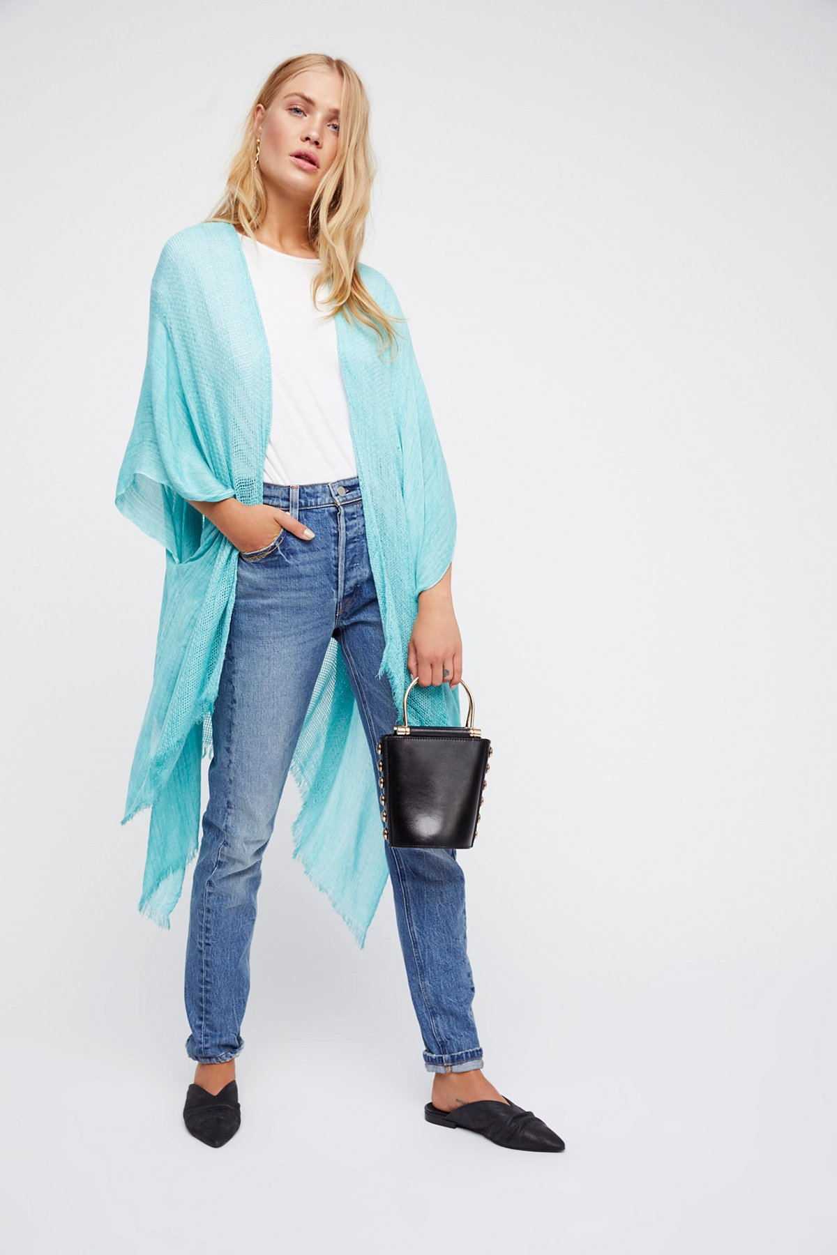 Day Dream Washed Kimono