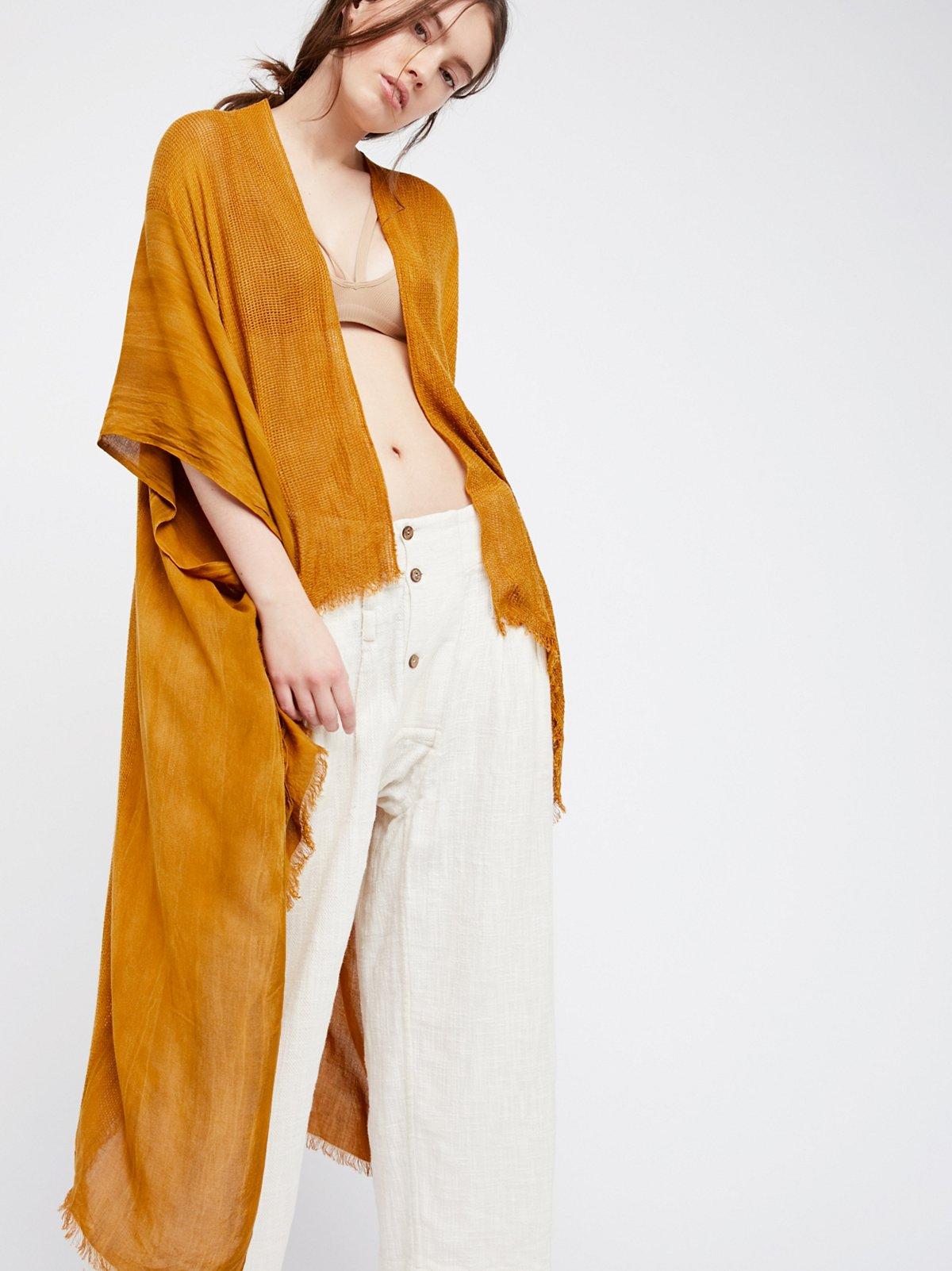 Day Dream Washed Kimono