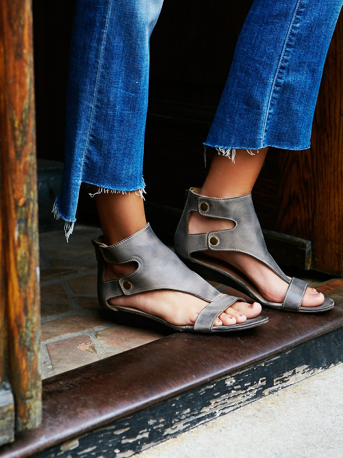 Bonfire Mini Wedge Sandal