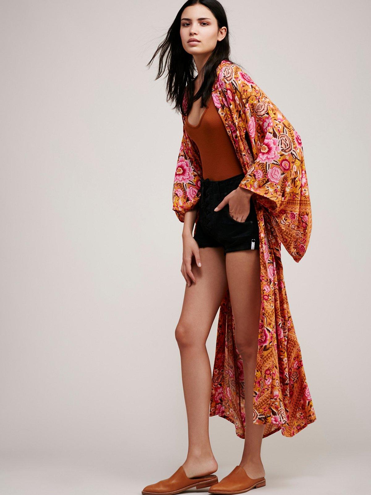 Babushka Maxi Kimono