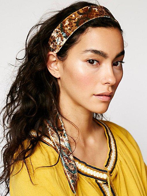 Product Image: Velvet Paisley Head Wrap