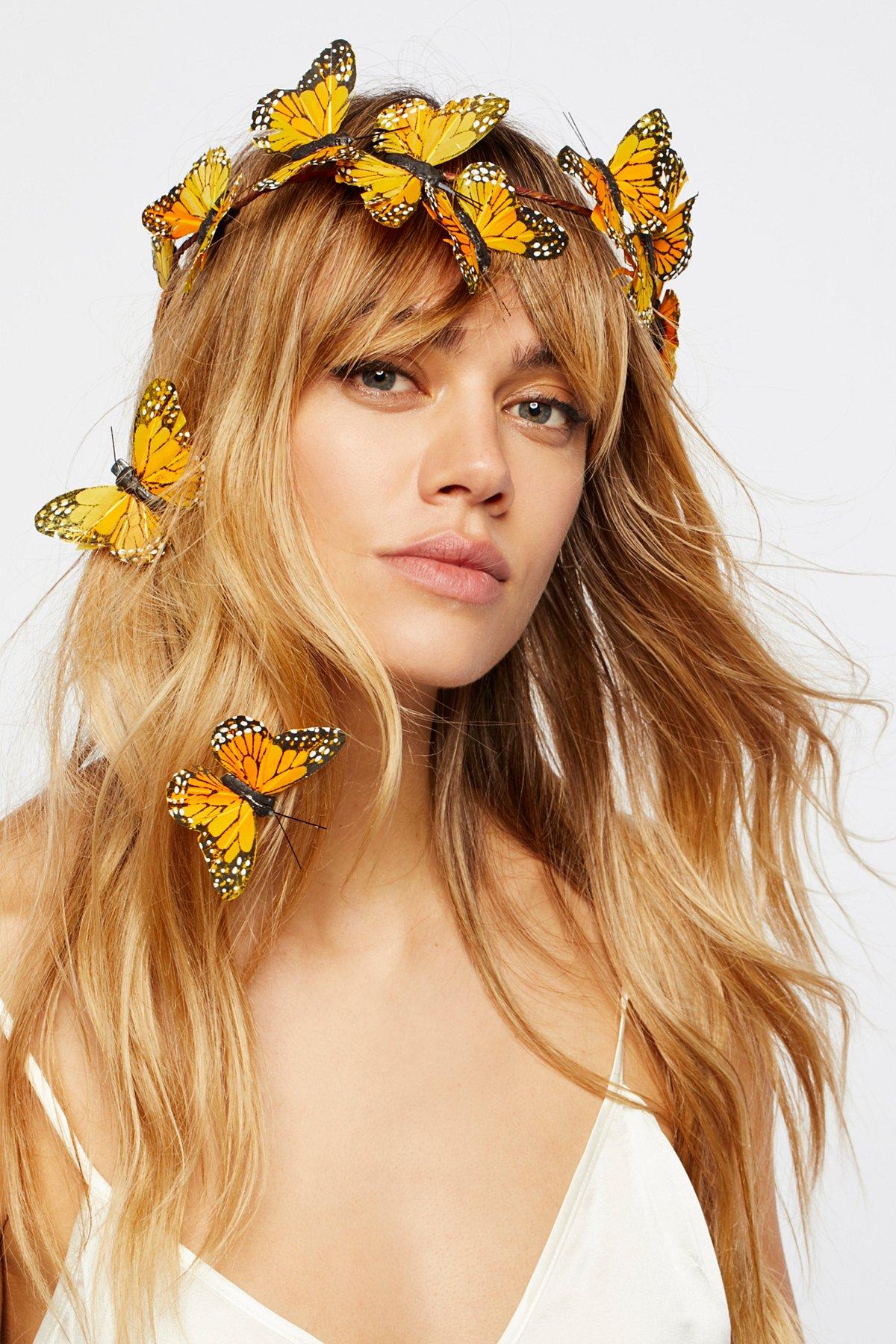 Meadow Monarch Crown Set
