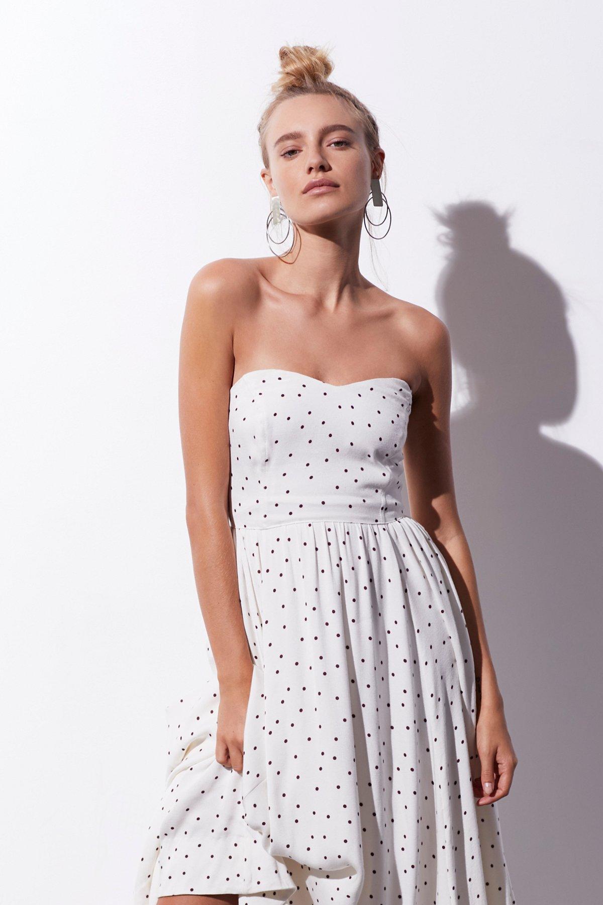 Bella Donna Polka Dot Dress