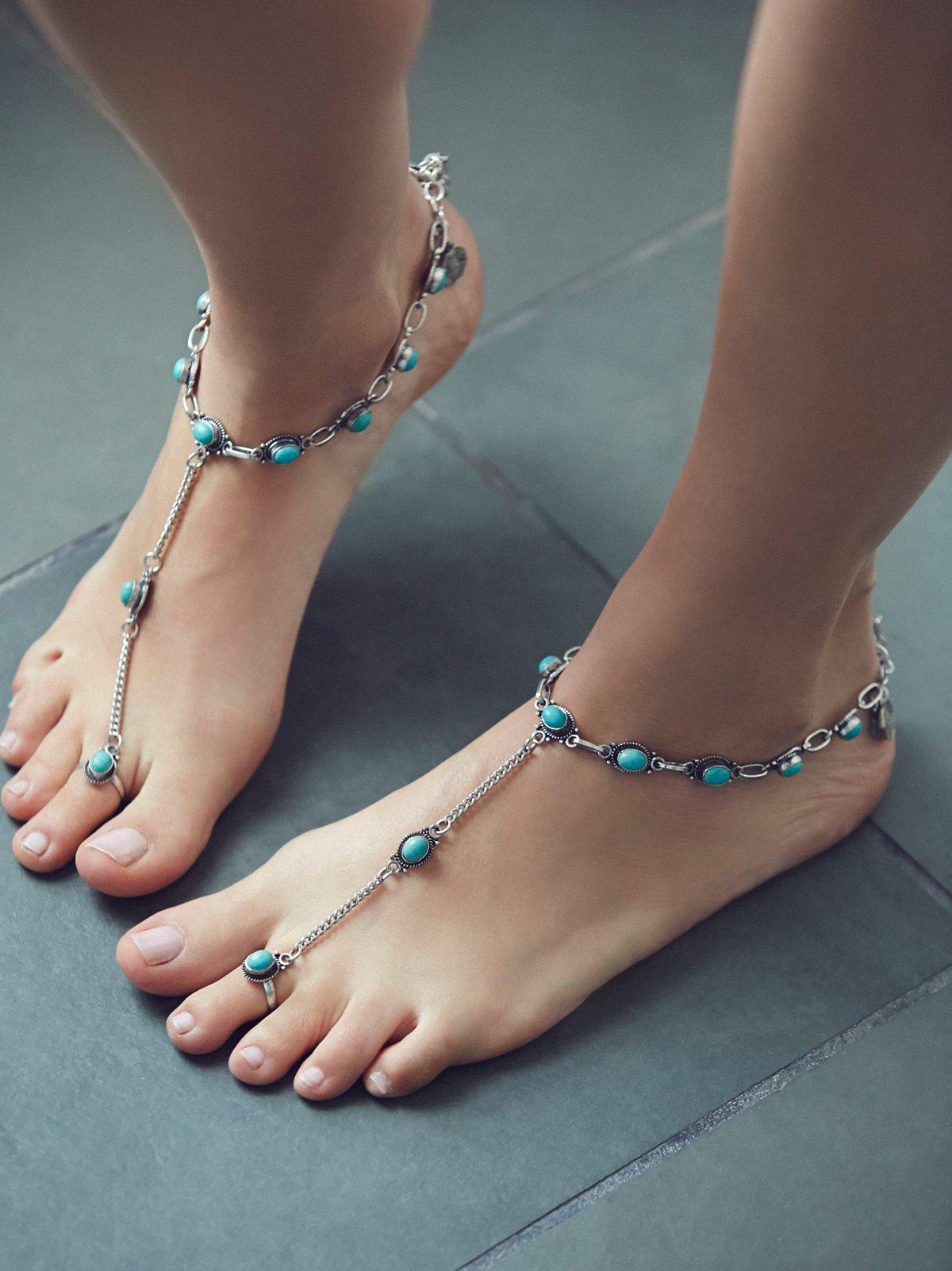 Traveler Barefoot凉鞋