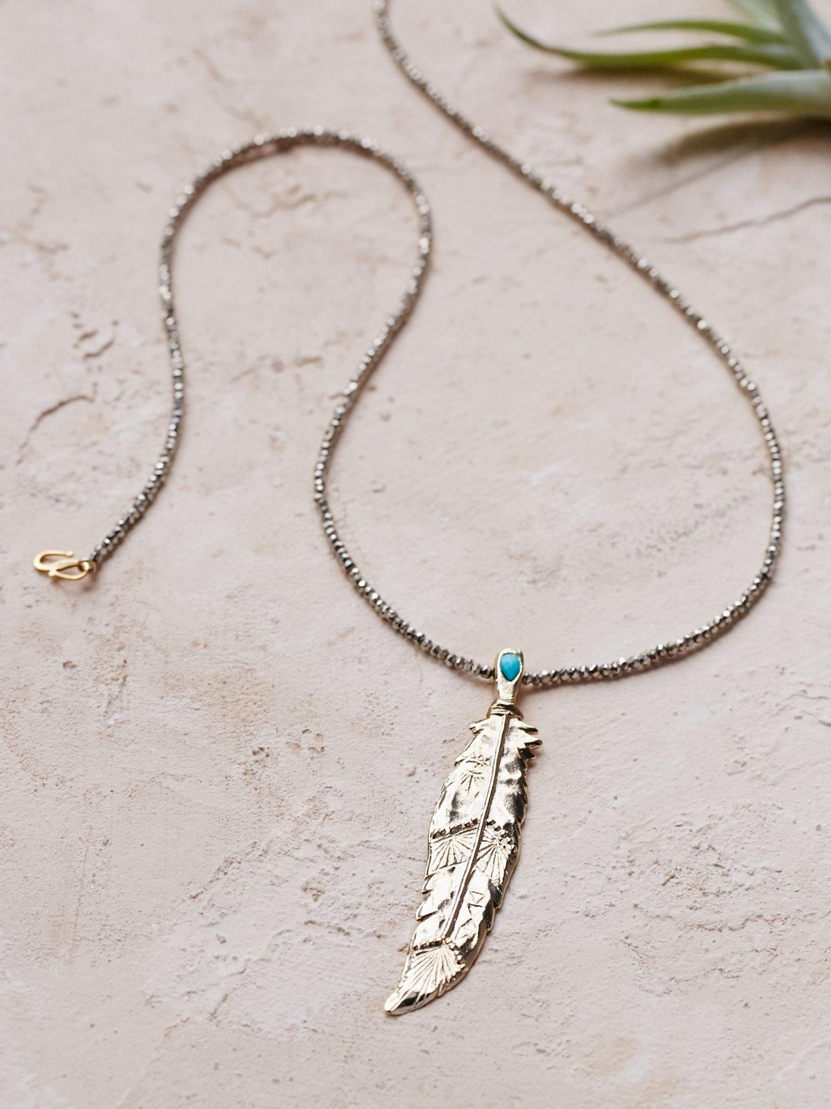 Destiny Feather Necklace