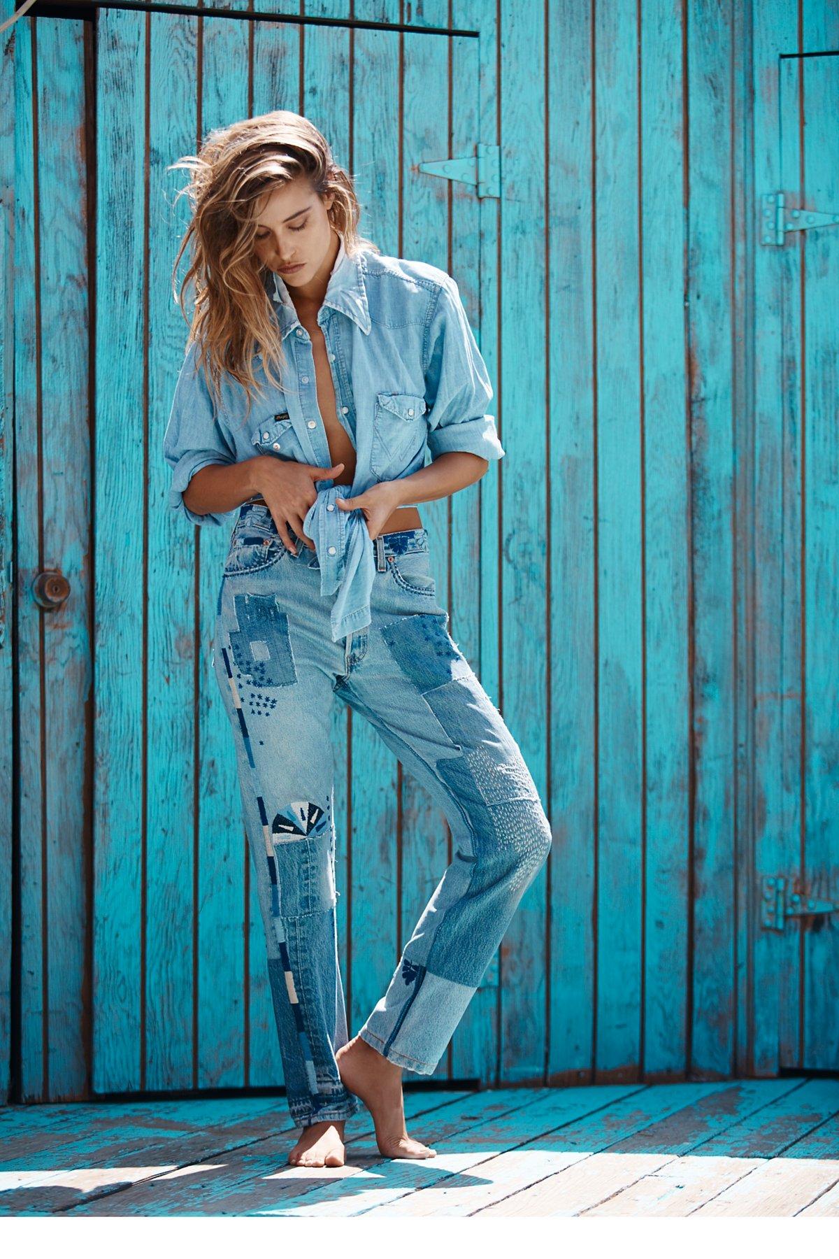 Heirloom Moondial Vintage Boyfriend Jeans