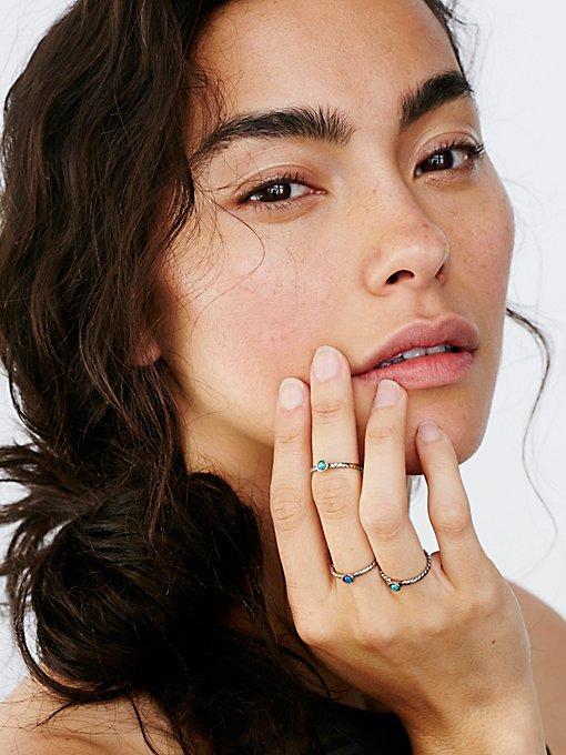 Product Image: Before Sunrise Opal Ring Set