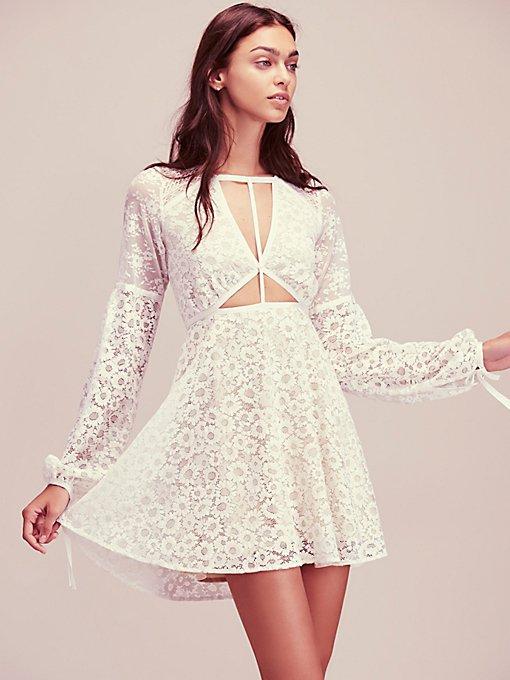 Product Image: Textured Lace Mini Dress