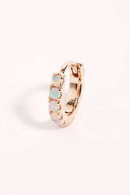 Product Image: Opal Eternity Hoop Earring