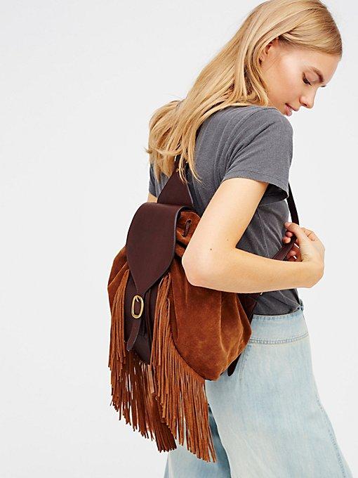 Product Image: Clara Fringe Backpack