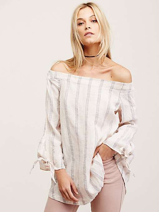 Product Image: Stripe Off the Shoulder Tunic
