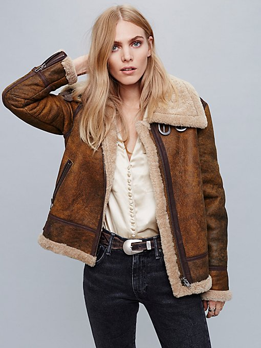 Product Image: Aviator Sherpa Coat